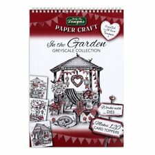 Katy Sue In The Garden Greyscale Collection Paper Craft Pad