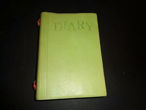 Fiorentina Italy Writing Journal Diary Light Green Leather New in Box