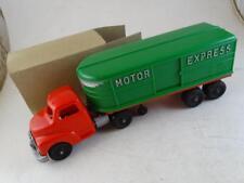 Vintage Hubley Kiddie Toy Motor Express Delivery Truck Model Plastic 1940s Old