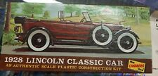 1928 Lincoln Classic model car kit Lindberg Products 1967 vintage 1/32 toy hobby
