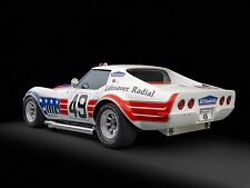 "1972 Chevrolet Corvette Stingray ZL1 BFG John_Greenwood Mini Poster 13""x19"" HD"
