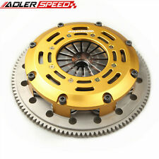 Adlerspeed Clutch Twin Disc Kit For Eclipse Talon Tsi Laser Rs 4g63 Turbo