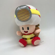 "Super Mario Odyssey Plush Captain Toad Treasure Tracker Soft Toy Doll Teddy 7"""