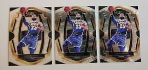 2018 Select Lebron James Premier Level 3 card lot.  First Year Lakers