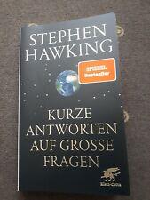 Stephen Hawking Kurze Antworten auf grosse Fragen Sachbuch