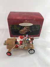 """Hallmark """"The Claus-Mobile Here Comes Santa"""" Ornament 1997"""