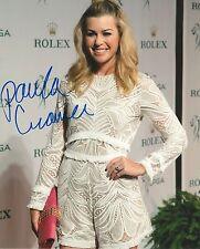 PAULA CREAMER signed LPGA 8x10 SEXY photo with COA A