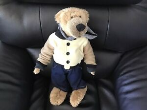 """18"""" John Lewis Bear With Jeans Hoodie And Jacket"""
