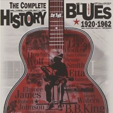 COMPLETE HISTORY OF BLUES 4 CD ( The Rolling Stones, Led Zeppelin, Cream) NEU