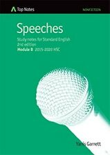 HSC English Top Notes study guide Speeches (Standard English Module A)