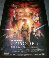 Star Wars 1 Phantom Menace poster by Drew Struzan