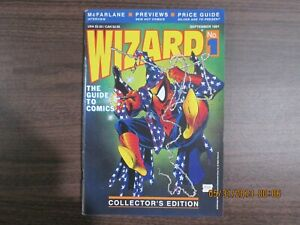 Wizard #1 Comic Book Price Guide Collector's Edition Todd McFarlane Cover