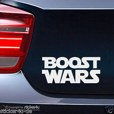 (1469) Fun Sticker Aufkleber Motiv: Boost Wars Star wars