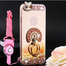 Luxury Mirror Bling Diamond Ring Holder Stand Case Cover For Various Mobile M