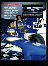 Olivier Panis Original Signiert Formel 1 +G 18432