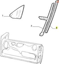 176 Fiat Punto Cabrio Door Glass Seal New & Genuine Fiat 46730716