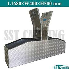 Aluminium Gullwing Toolbox 1680 Gull Wing Top Opening Ute Truck Trailer Tool Box