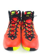 Men's Athletic shoes Nike Basketball shoes Orange shoes Street Style shoes 8
