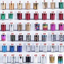 XICHEN 48 Colors Starry Sky Stars Nail Art Stickers Tips Wraps Foil Transfer ...