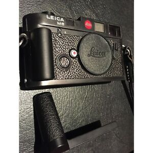 [free shipping] Leica M - right hand grip Camera Grip 3D printed in colour BLACK