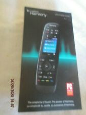 """Logitech Harmony Ultimate One 2.4"""" Touch Screen Universal Remote for 15 devices"""