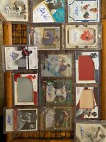 MLB Auto Hot pack - 2 Autograph Cards And 1 Relic Card