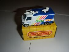 Matchbox TV News Truck MB68 Rock TV