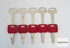 New 5 Master Hitachi H800 key & 5 Komatsu 787 key,  Excavator