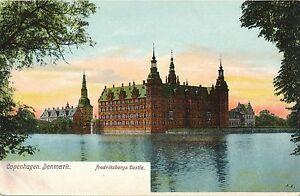 COPENHAGEN – Fredriksborgs Castle – Denmark - udb (pre 1908)