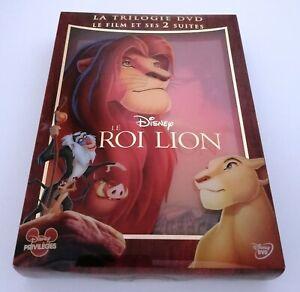 DVD Disney Trilogie Le Roi Lion Et Et Des Deux Suites
