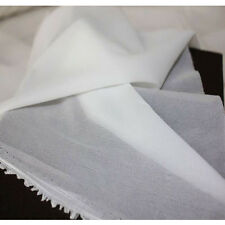10M Woven Fusible interlining single face glue cloth-lined soft silk thin fabric