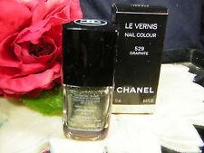 CHANEL Le Vernis *GRAPHITE 529 NAIL POLISH NEW BOX - NEW/BOXED