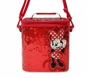 Minnie Mouse Red Sequin Lunchbox ~NEW~ NWT and FREE SHIPPING