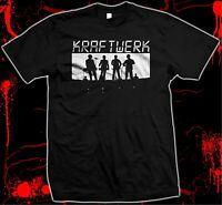 Kraftwerk - Hand Silk Screened, Pre-shrunk 100% Cotton T-shirt