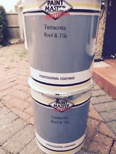 HEAVY DUTY TERRACOTTA Acrylic Roof And Tile Paint 20lt CHEAPEST ON EBAY