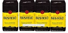 Lot of 4 x 16oz Cafe BUSTELO Whole Bean Coffee Supreme Espresso Premium SEP 2017