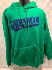 LINDENWOOD University Green Blue Jansport Hoodie Jacket Men's Size XL