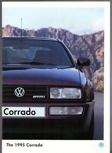 Volkswagen Corrado 1994-95 UK Market Sales Brochure 8v 16v VR6