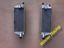 For HUSQVARNA AE/CR/WR/XC 400/430/500 1984-1987 BRACED ALUMINUM RADIATOR