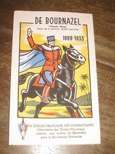 buvard ancien Pétain légion française des combattants WW2 vichy propagande