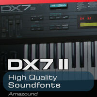 DX7 II SOUNDFONT COLLECTION 96 .sf2 FILES AMAZING QUALITY SAMPLES
