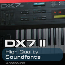 YAMAHA DX7 II SOUNDFONT COLLECTION 96 SF2 FILES AMAZING SAMPLES DOWNLOAD