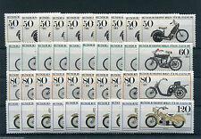 Berlin 694 - 697 postfrisch 10 x Michel 80,00 Euro Motorrad Sammlung MNH