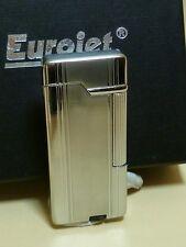 EURO JET Pipes Briquet - chrome - neuf et dans l'emballage d'origine - 25213A