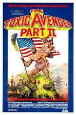 Toxic Avenger 2 Poster 01 A3 Box Canvas Print