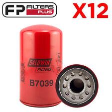 12 x B7039 Baldwin Oil Filter LF3630 P550371, F4TZ6731A, AFL72MC, Z642 7.3L