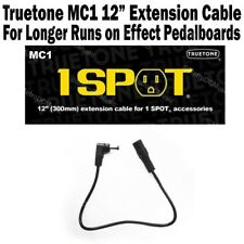 "1-SPOT 12"" Extension Cable Guitar Pedal Adapter MC1 Truetone Visual Sound N"