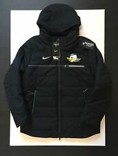 Nike  Oregon Ducks Black Duck Face Full Zip Sideline Jacket Mens Size L Puddles