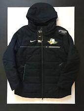 Nike  Oregon Ducks Black Duck Face Full Zip Sideline Jacket Mens Size L Puddles