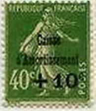 """FRANCE STAMP TIMBRE YVERT 253 """" CAISSE AMORTISSEMENT +10c S 40c """" NEUF xx LUXE"""